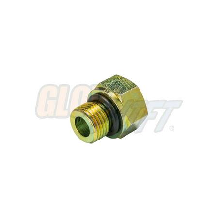 GlowShift Oil Pressure Sensor Thread Adapter for Chevy LS - Oxygen Sensor Check Engine