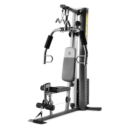 Gold's Gym XRS 50 Home Gym with High and Low Pulley