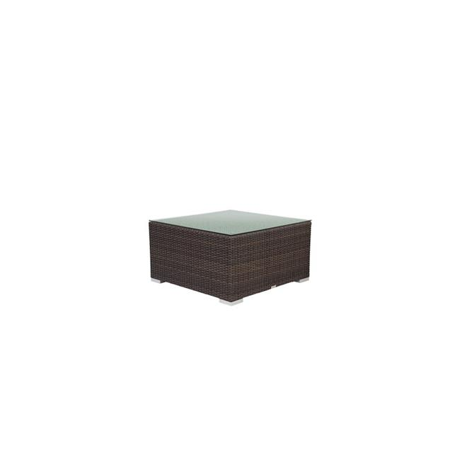 Source Outdoor SO-2004-301-ESP Manhattan Square Shaped Coffee Table in Espresso by Source Outdoor