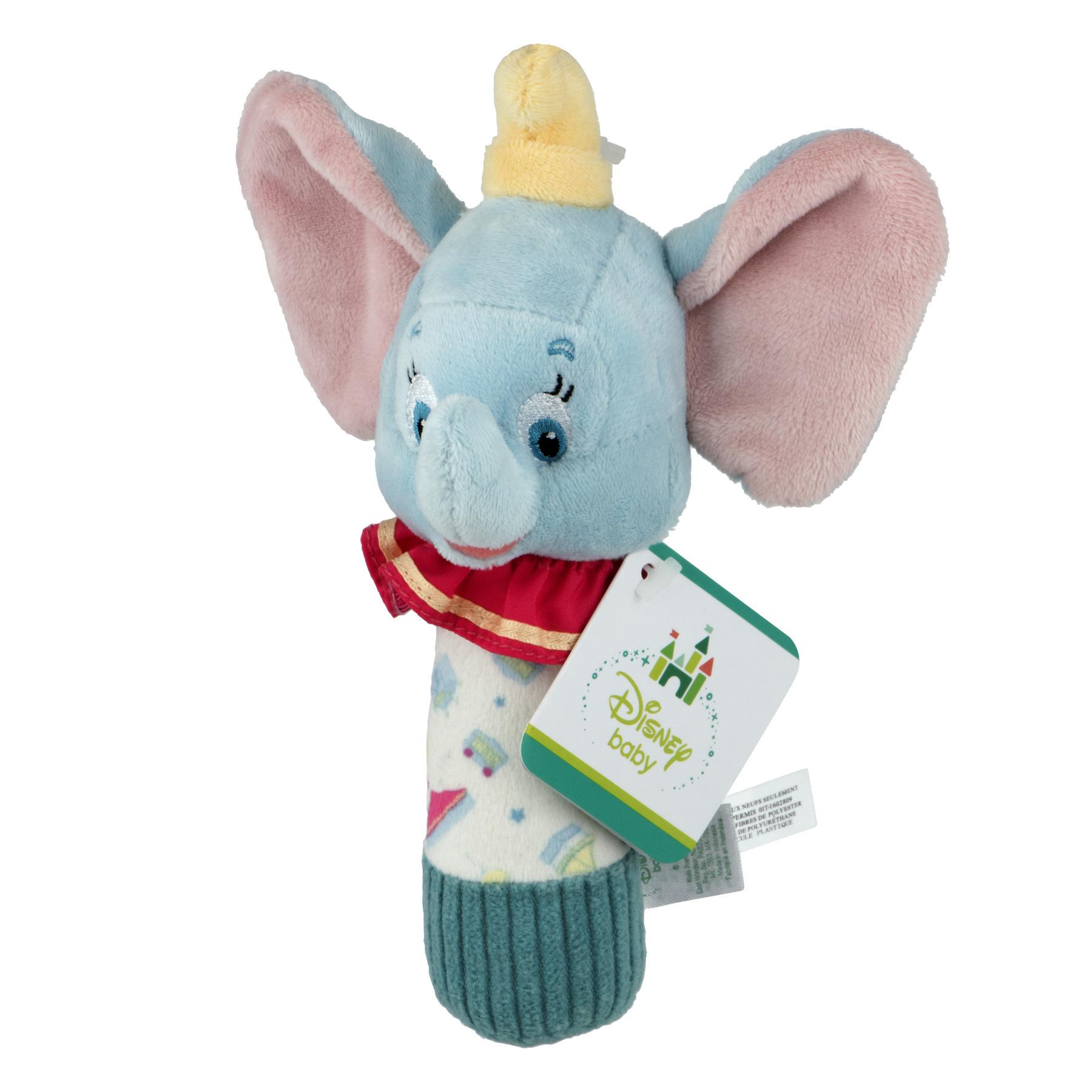 Disney Baby Dumbo Stick Rattle Kleinkindspielzeug