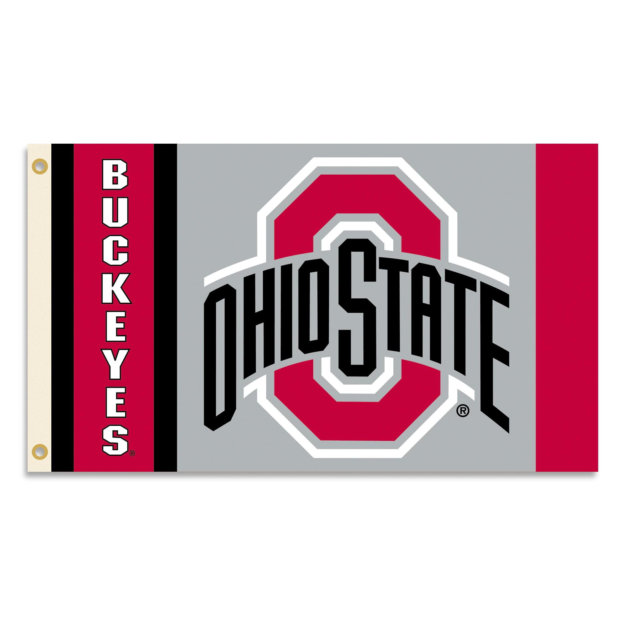 Ohio State University Logo Flag