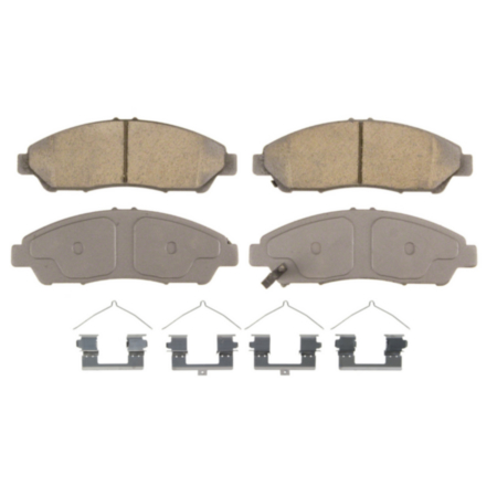Disc Brake Pad Set-ThermoQuiet Disc Brake Pad Front Wagner QC1169A