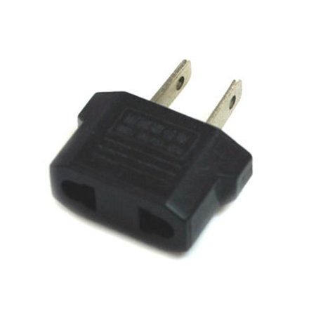 Travel Assitant Plug Outlet Adapter From Europe Euro to Us USA Lightweight Portable, By ZONO Wholesale - Wholesale Outlet Stores