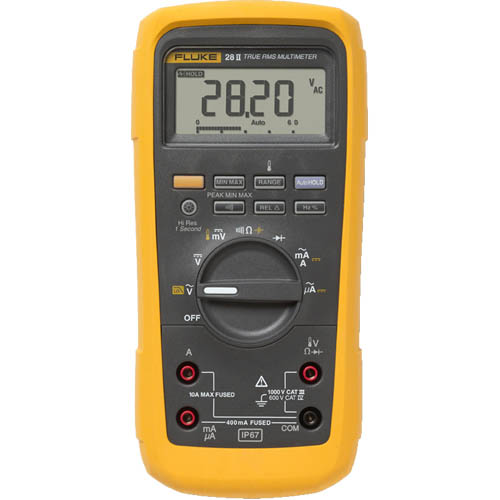 Fluke 28 II True-RMS Rugged IP 67 Industrial Digital Mult...