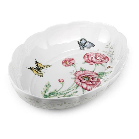 Lenox Butterfly Meadow Scalloped Oval