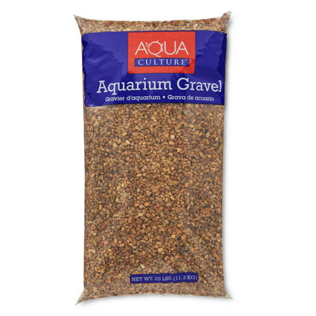 Aqua Culture Aquarium Gravel Mix, Mountain Jewels, 25 - Aquarium Fish Tank Display