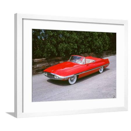 1957Chrysler Hemi Ghia Dart Diablo Framed Print Wall Art