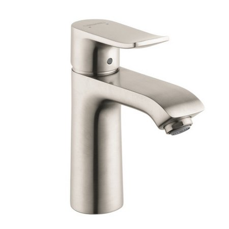 Hansgrohe 31080821 Metris 110 Widespread Bathroom Faucet Brushed