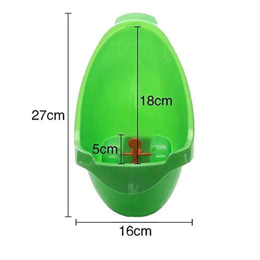 ICOCO Frog Children Potty Toilet Training Kid Urinal For Boy Pee Trainer Bathroom Green