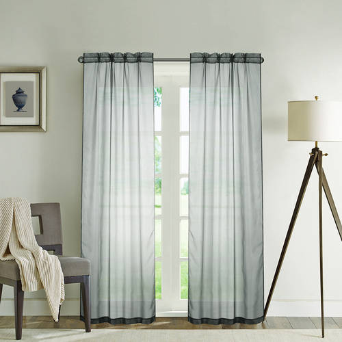 Mainstays Sheer Window Panel, Set of 2