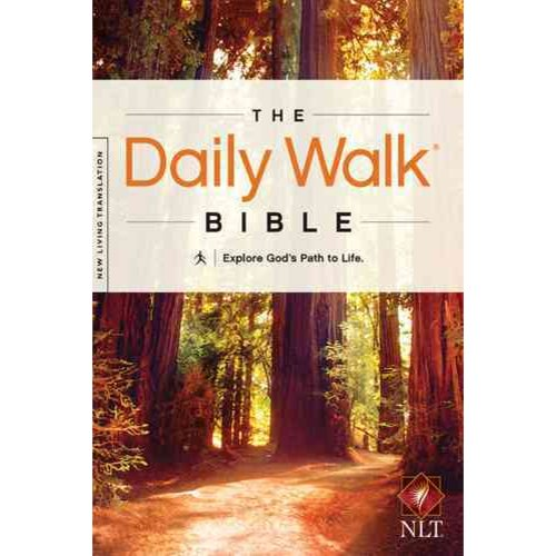 The Daily Walk Bible: New Living Translation, Explore God's Path to Life