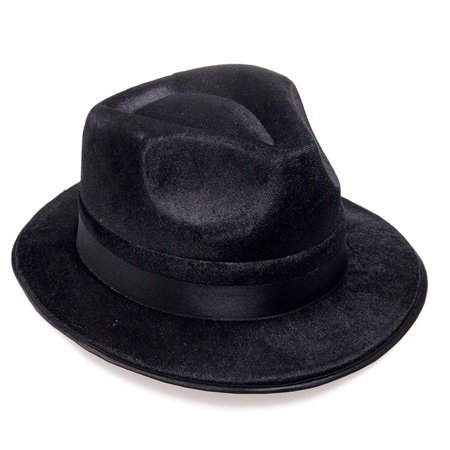 Blues Brothers Fedora Hat, One hat. By Rhode Island (Blues Brothers Hat Type)