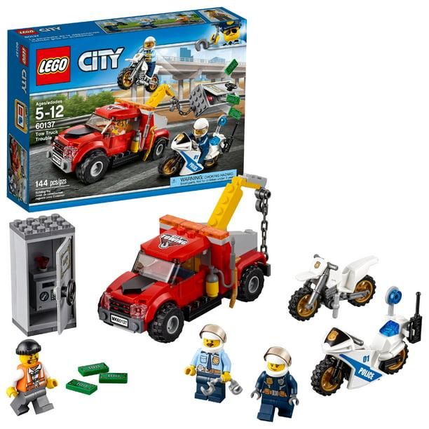 Lego City Police Tow Truck Trouble 60137 Walmart Com Walmart Com