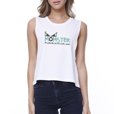 Mob Halloween Costumes (Momster Kids Don't Listen Womens Halloween Costume Tshirt For)