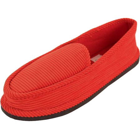 Bright Mens Corduroy House Slippers