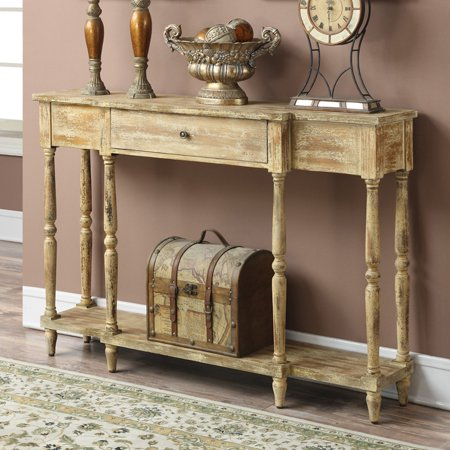 Convenience Concepts Wyoming Antique Console, Multiple Colors