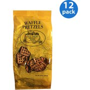 East Shore Specialty Foods Waffle Pretzels, 10 oz, (Pack of 12)