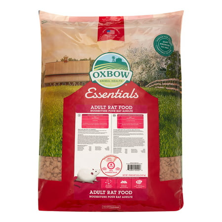 Oxbow Essentials Adult Dry Rat Food, 20 lbs.