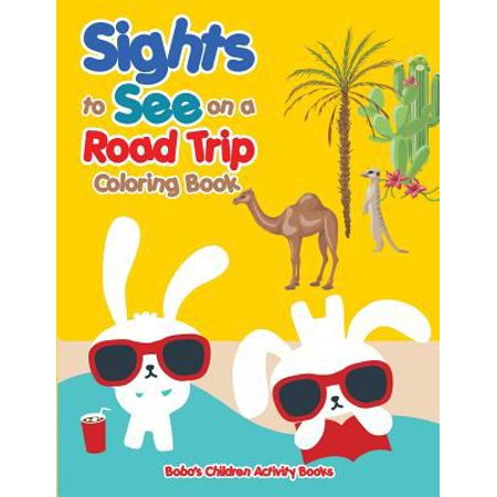 Sights To See On A Road Trip Coloring Book