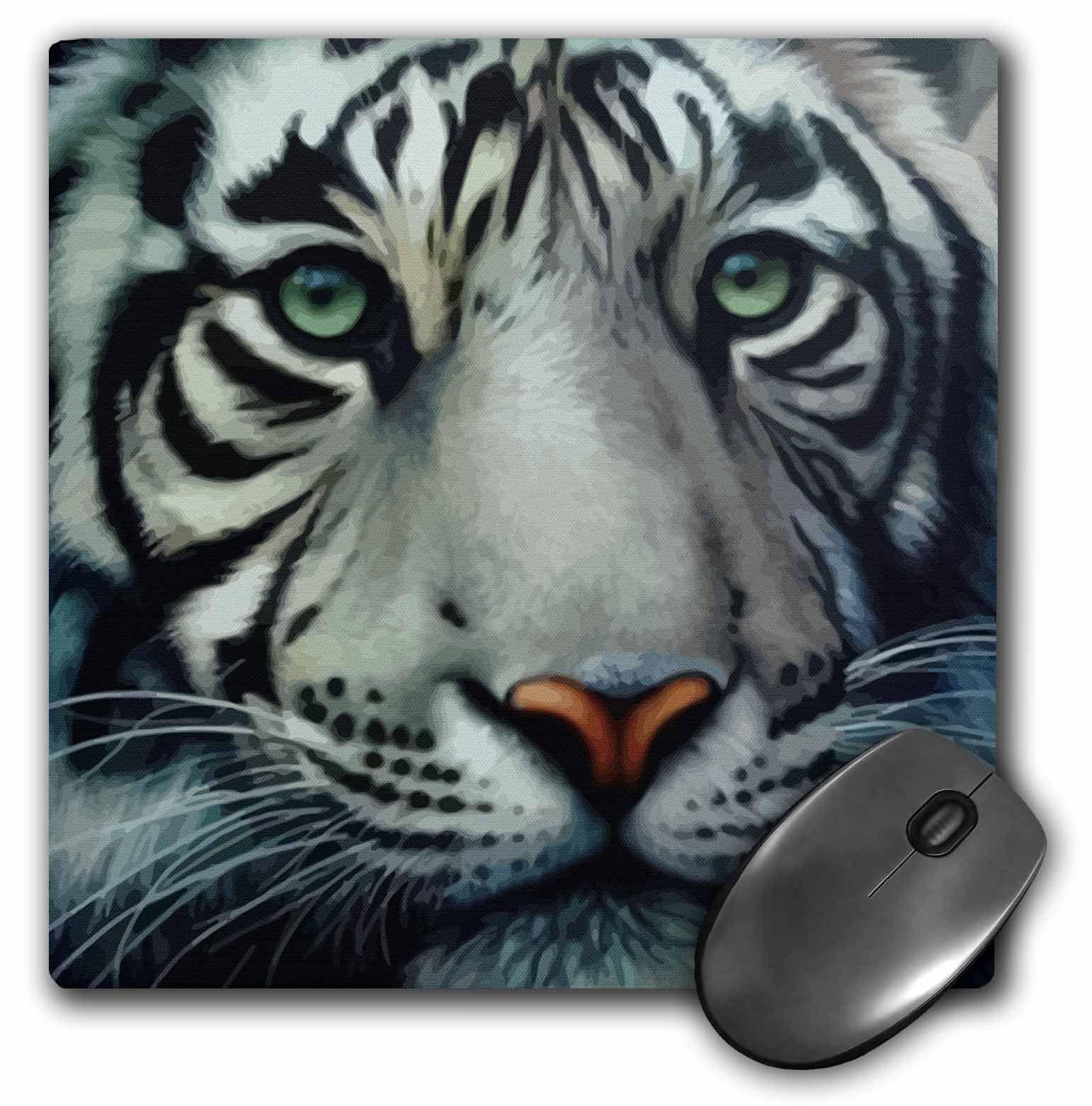 Lion Tiger Snow Cat Husky Leopard Pricess Computer PC Mouse Pad Mat Mice