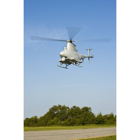 An Mq 8B Fire Scout Unmanned Aerial Vehicle Poster Print