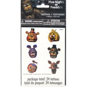 """Five Nights at Freddy's Temporary Tattoos, 24ct"""
