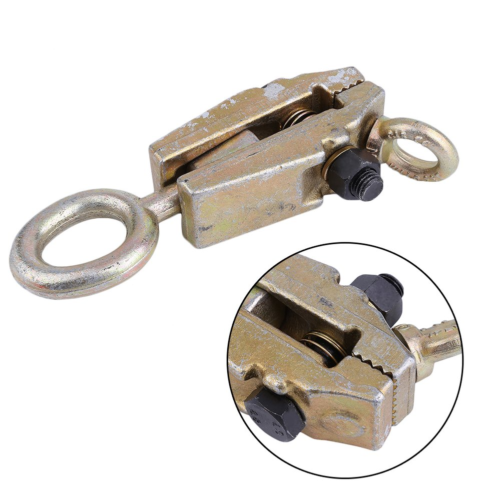 3 Ton TWO-WAY Frame Back Self-Tightening Grips /& Auto Body Repair Pull Clamp