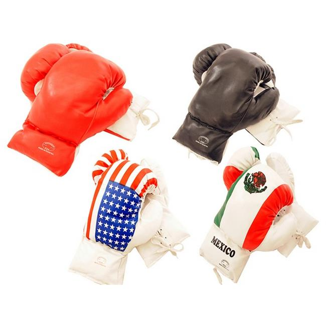 E110-04 Boxing Gloves in 4 Different Styles, 4 oz