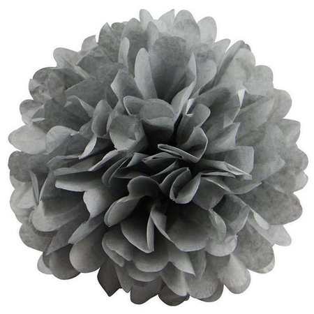 Efavormart 12 PCS Paper Tissue Wedding Birthday Party Banquet Event Festival Paper Flower Pom Pom 14 - Pom Poms Blue And White
