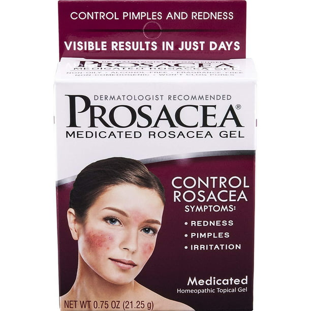 Prosacea Rosacea Treatment Gel 0 75 Ounce Walmart Com Walmart Com
