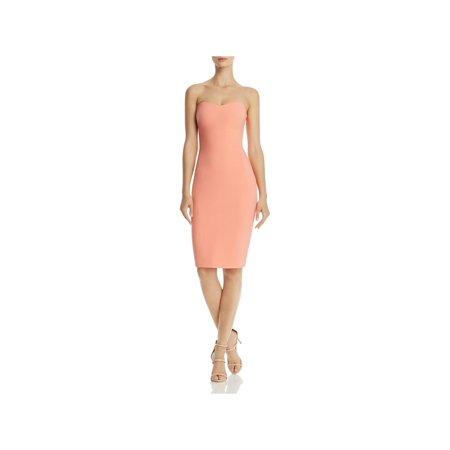 Likely Womens Lauren Strapless Knee-Length Cocktail Dress ()