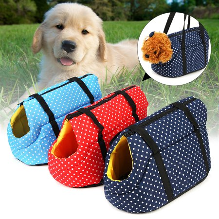 Kitten Cat Purse - For Dog Puppy Cat Kitten Breathable Padded Pet Travel Carrier Hand Shoulder Bag