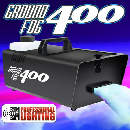 400 Watt Ground Fogger - Fog Machine - Low Lying Fog - Great for Halloween Decorations](Bubble And Fog Machine)