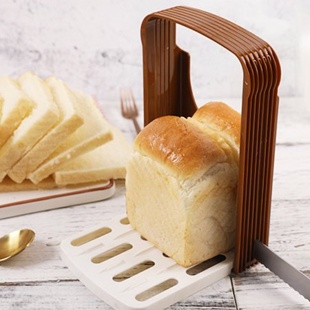 Bread Loaf Toast Sandwich Slicer Cutter Mold Maker Kitchen Guide Slicing