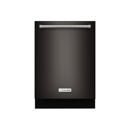 KitchenAid KDTM404EBS - Dishwasher - built-in - Niche - width: 24 in - depth: 24 in - height: 34 in - black/stainless