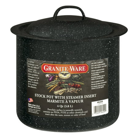 Granite-Ware 4 Quart Stock Pot, 1.0 CT
