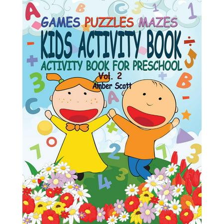 Kids Activity Book ( Activity Book for Preschool) - Vol. 2