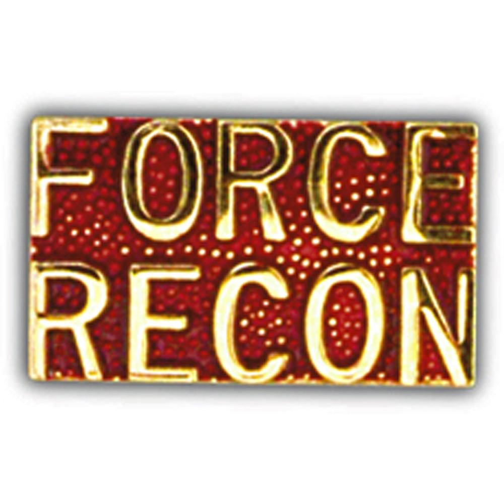 U.S.M.C. Force Recon Pin 1""