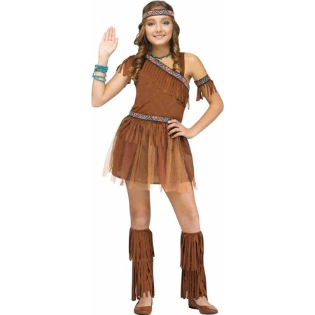 Give Thanks Native American Indian Kids Costume (Indain Costume)