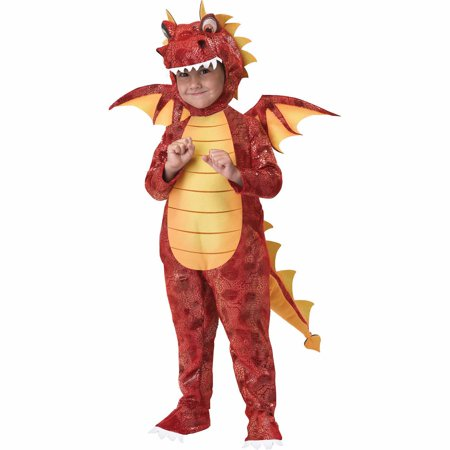 Dragon Fire Child Halloween Costume (Dragon Costumes For Girls)