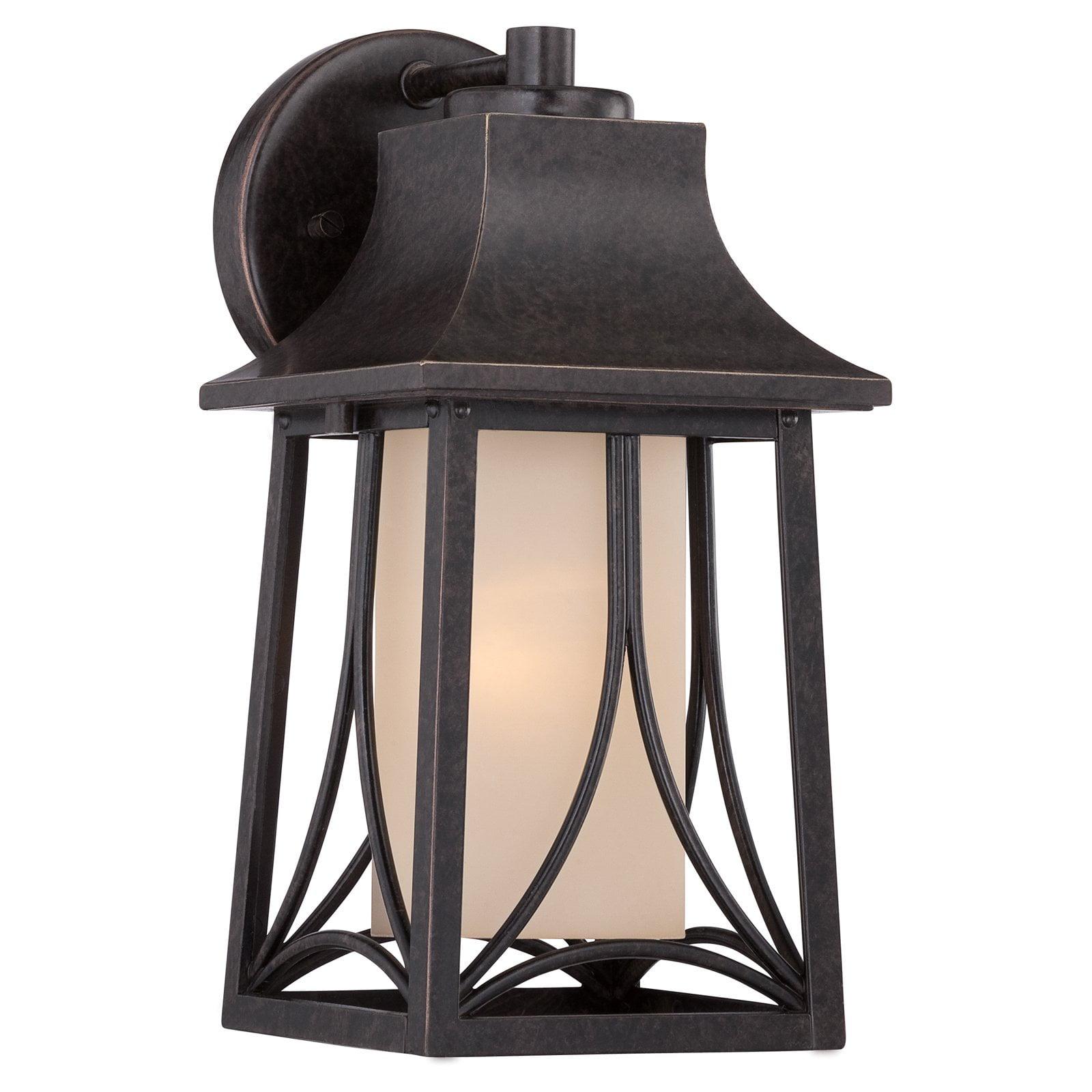 Quoizel Hunter HTR8406IB Outdoor Wall Lantern