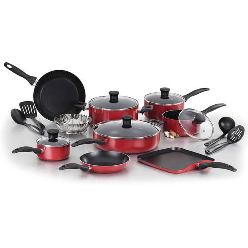 T-fal Easy Care Nonstick 18-Piece Cookware Set