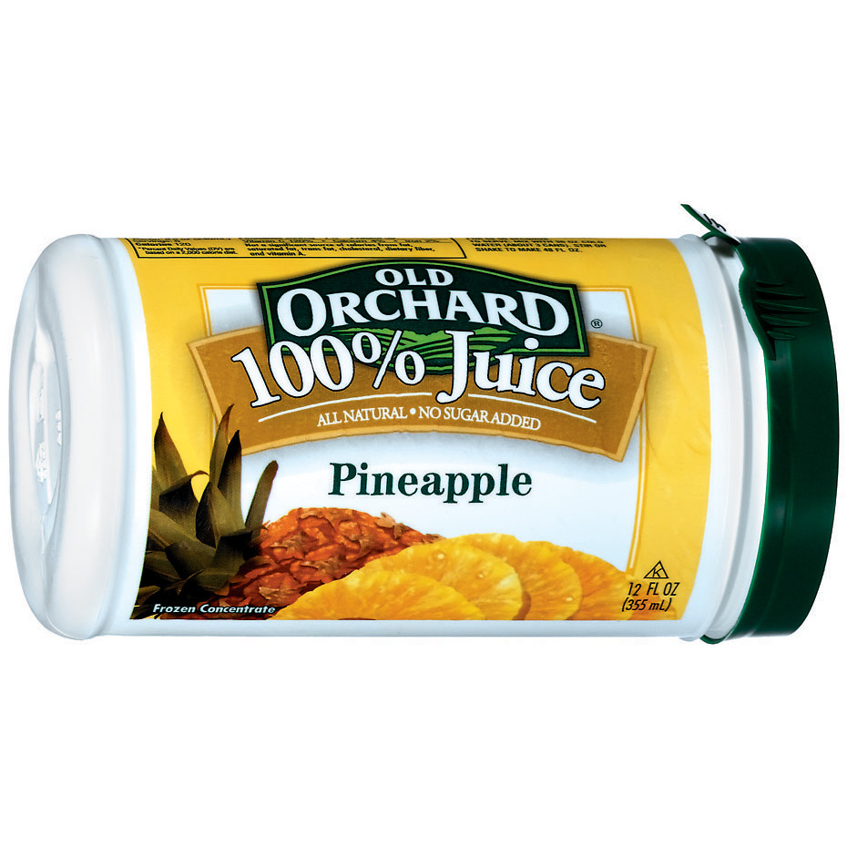 Old Orchard® 100% Juice Pineapple Frozen Concentrate 12 fl. oz. Can
