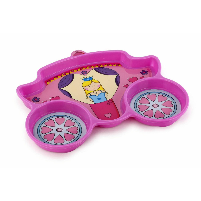 KidsFunwares Me Time Polypropylene Plate and Utensil Set, Princess, BPA Free by KidsFunwares