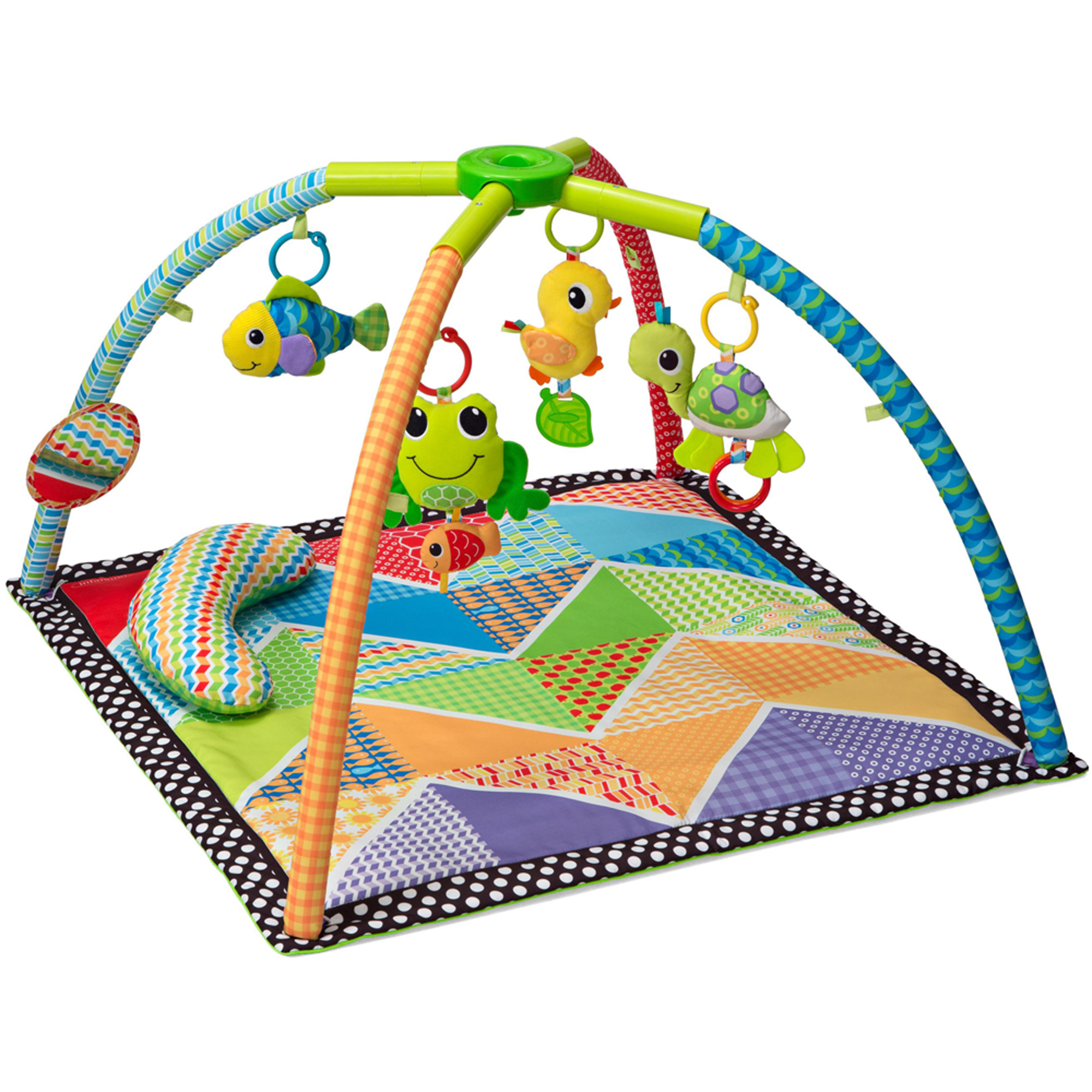 Infantino Pond Pals Twist And Fold Activity Gym And Play