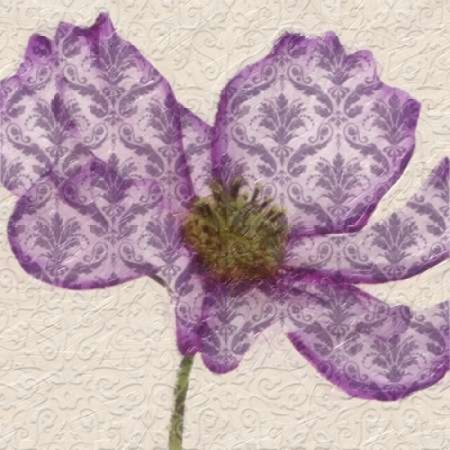 PATTEREND PETALS I Poster Print by Taylor Greene