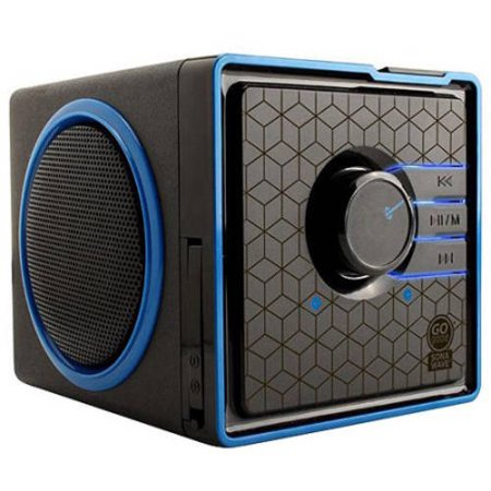 GOgroove SonaVERSE BX Portable Speaker System with Dual Stereo Drivers , Rechargeable Battery and 3.5mm AUX Port - Use with Smartphones , Laptops , MP3 Players and