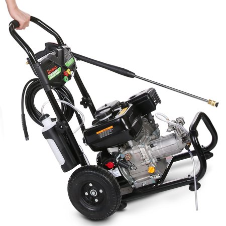 3600PSI 7HP Petrol Engine High Pressure Washer 2.8GPM Pressure Washer Cleaner Machine HFON