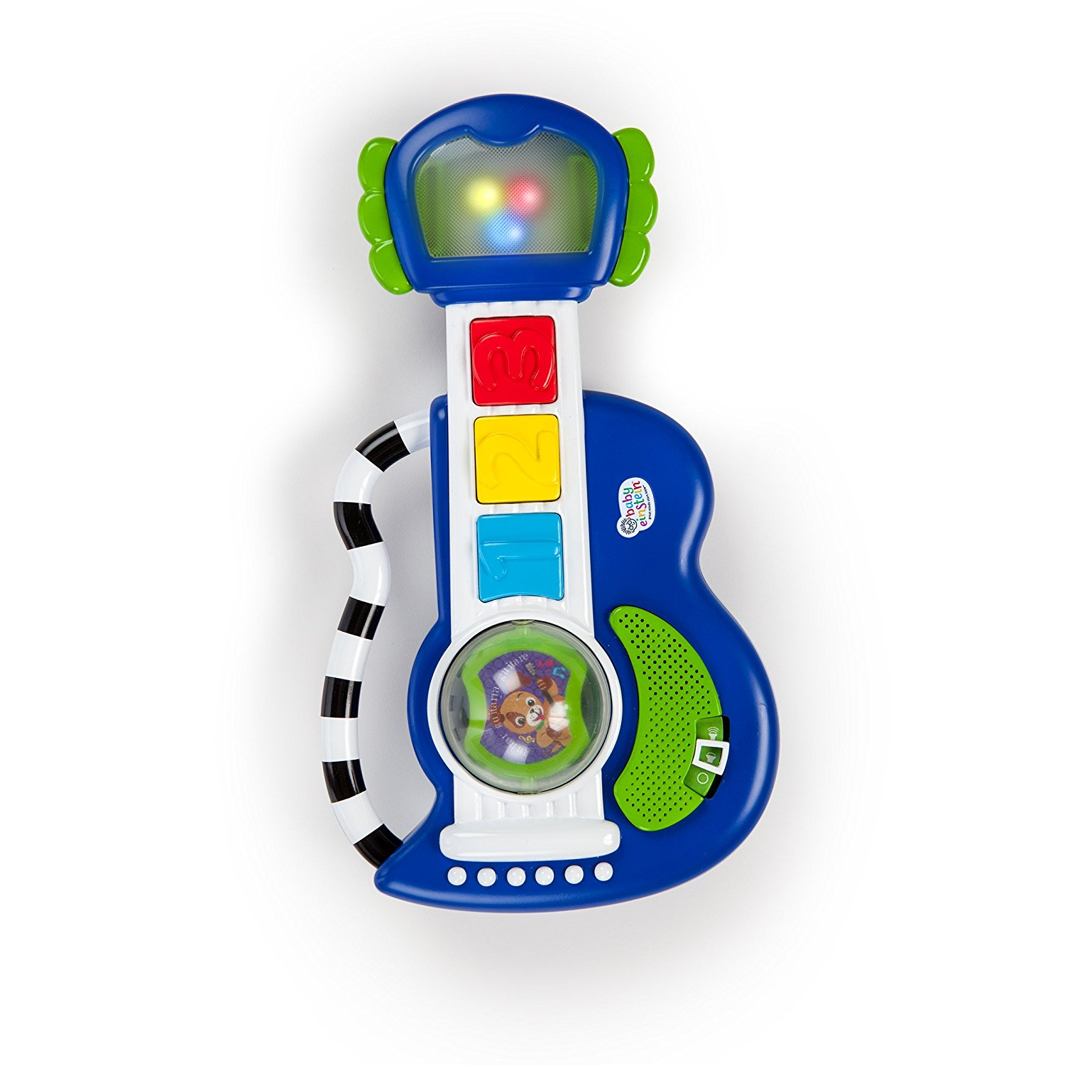 Rock Light and Roll Guitar Toy, Einstein Saucer Basics Activity Bright Reef Symphony Pack 10 Incandescent 2in1 15 Baskets Designed Lamps E12 Sound Discover Socket12.., By Baby Einstein