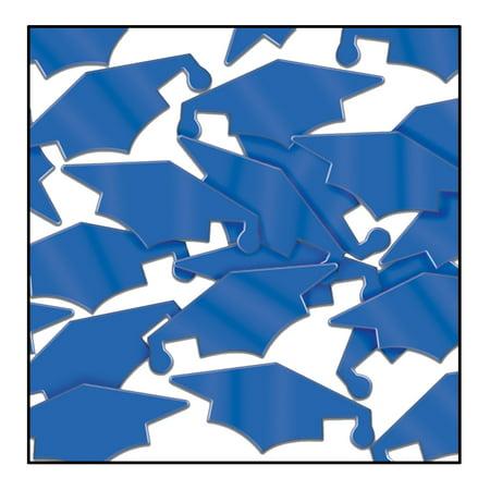 Beistle Fanci-Fetti Grad Caps Decoration 1 oz Party Confetti (Preschool Graduation Caps)